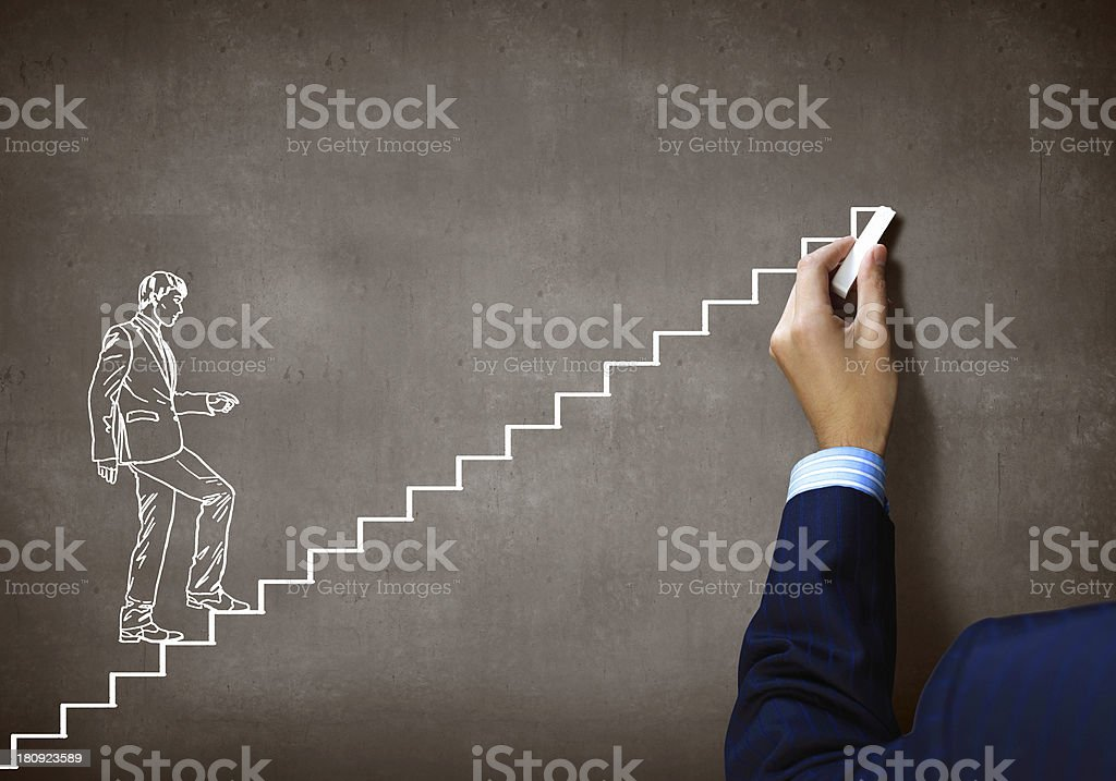 Promotion concept stock photo