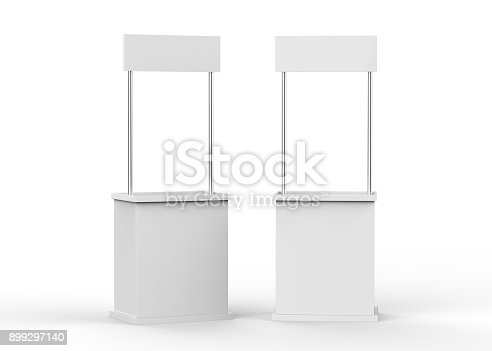 175439992istockphoto Promotion counter on isolated white background 899297140