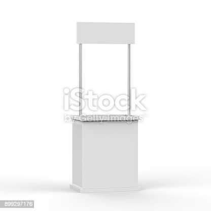 istock Promotion counter on isolated white background 899297176