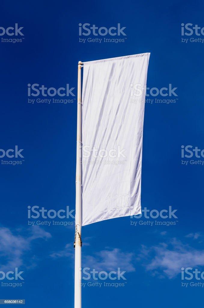Promotional flag stock photo