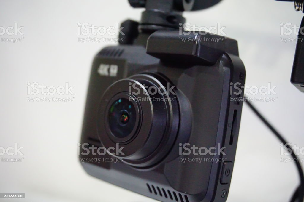Proof camera inside car stock photo