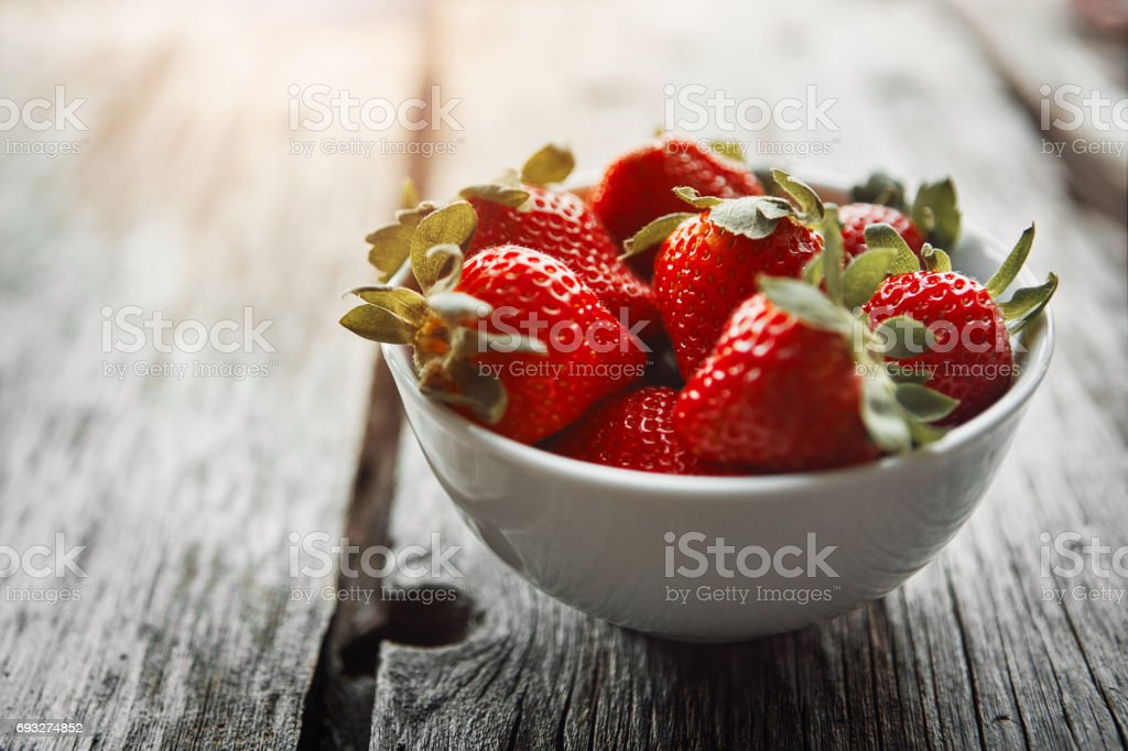 Proof that healthy food can be tasty food stock photo