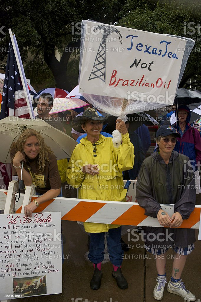 Pro-Oil Demonstrator royalty-free stock photo