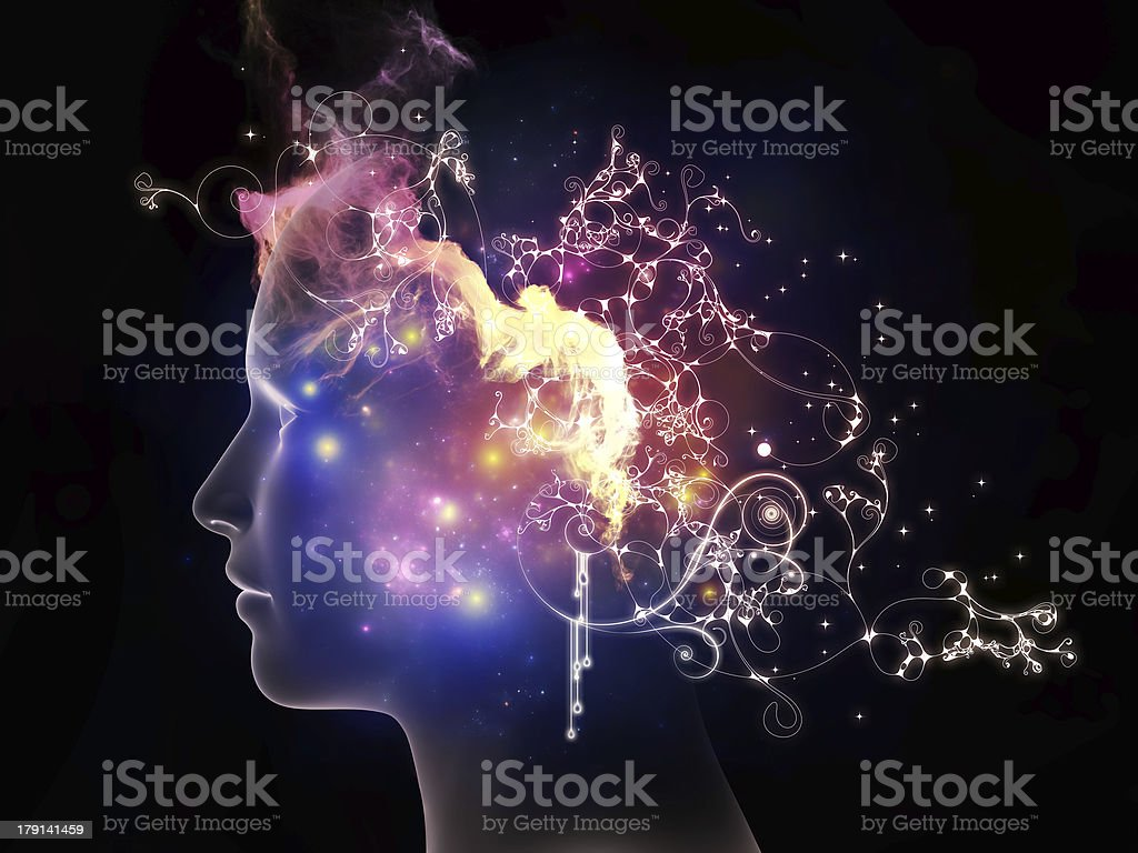 Propagation of Inner Thoughts royalty-free stock photo