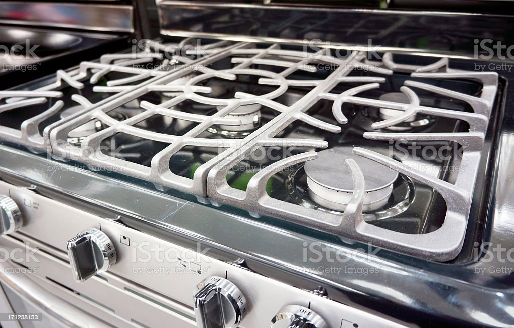 Propane gas grill royalty-free stock photo