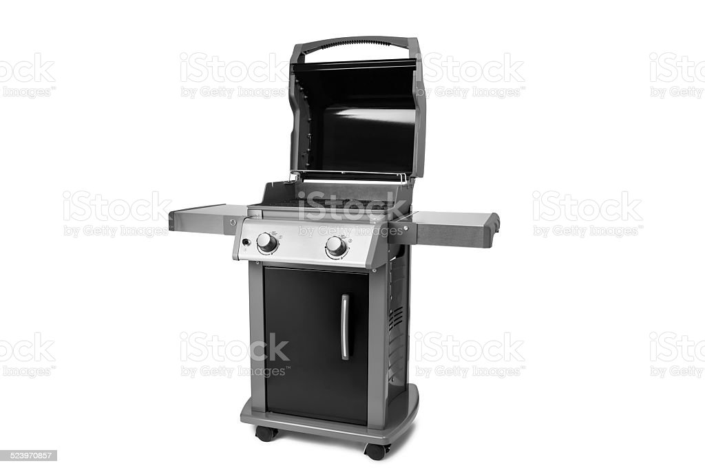 Propane Gas Grill stock photo