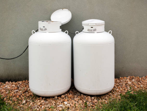 Propane stock photo