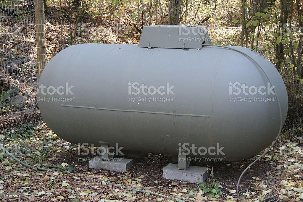 Propane tank royalty-free stock photo