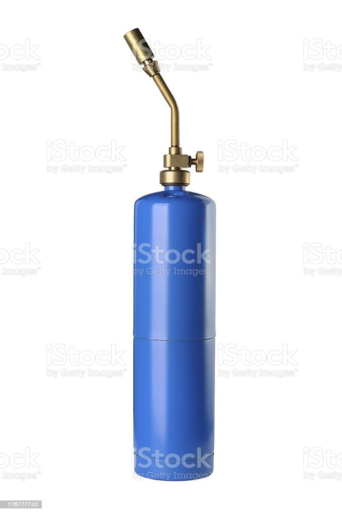 Propane Torch stock photo