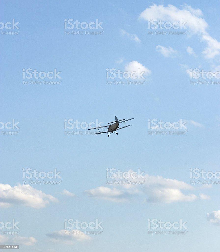 Avion à hélice photo libre de droits