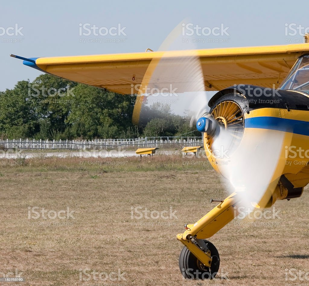 Propeller royalty-free stock photo