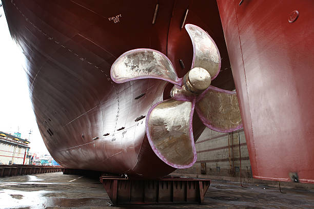 Propeller A ship's propeller propeller stock pictures, royalty-free photos & images