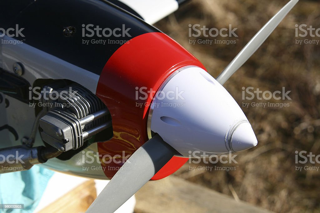 Propeller royalty-free stock photo