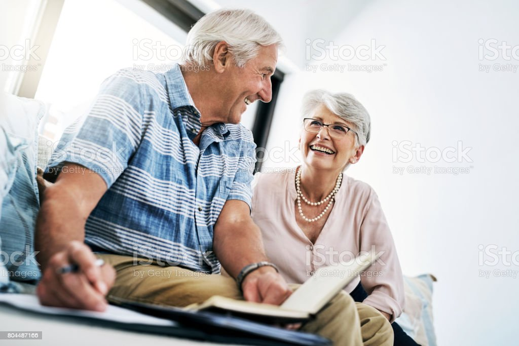 Proper financial planning pays off stock photo