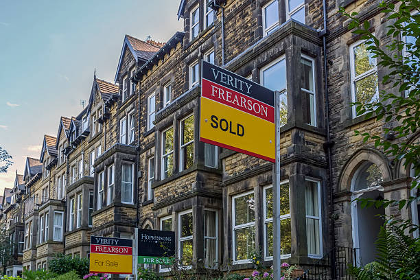 Property For Sale Harogate stock photo