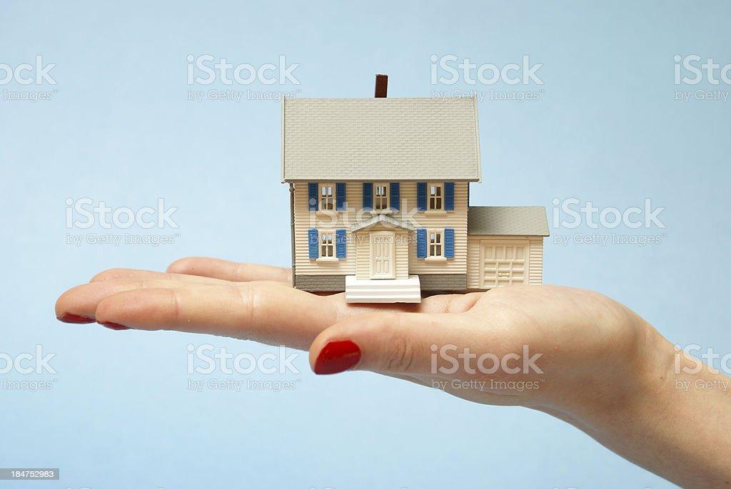 Property Holding royalty-free stock photo