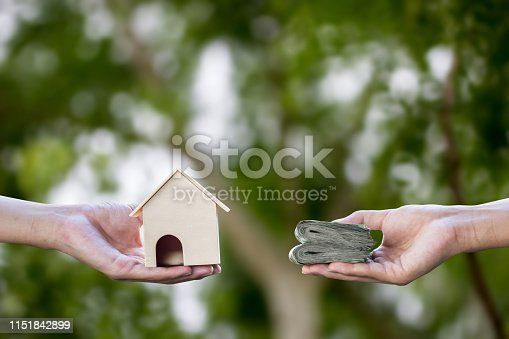 istock Property, house buying, landlord, rent, loan, mortgage concept. 1151842899