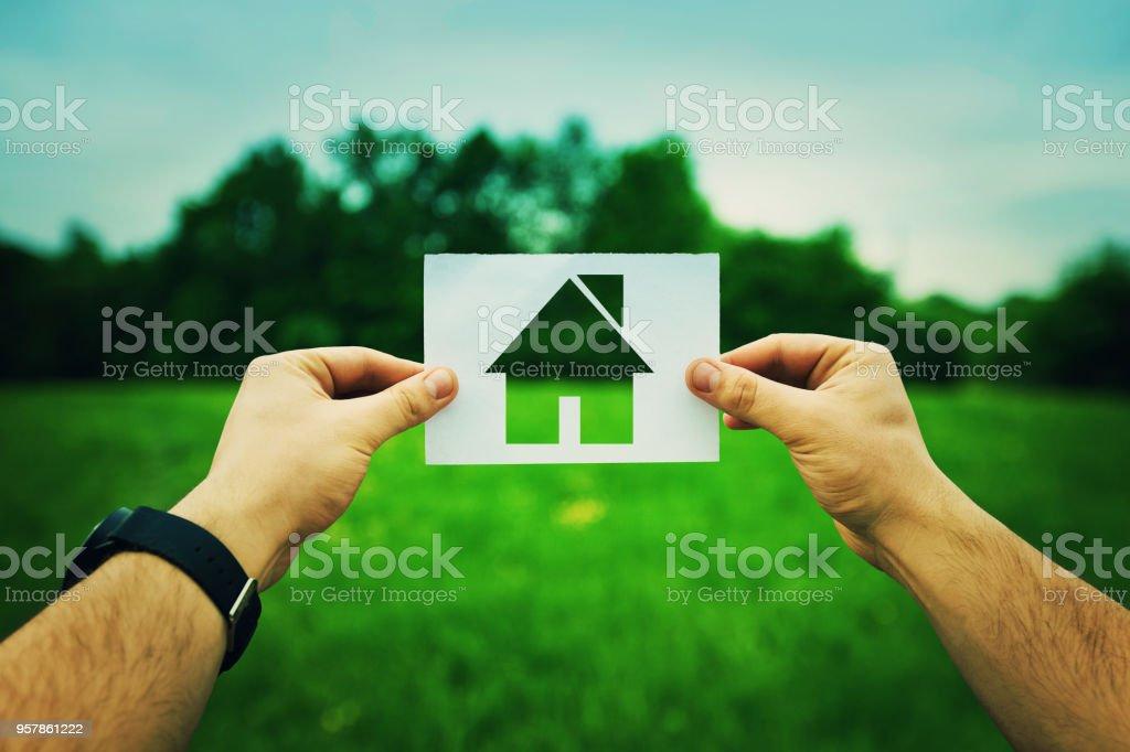 Haus Versicherung-Konzept – Foto