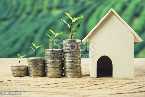 958039576istockphoto Property investment, home loan, house mortgage, real estate financial concept. 1150326006