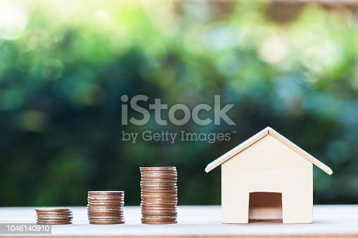 1048402108istockphoto Property investment,  home loan, house mortgage, resident financial concept 1046140910