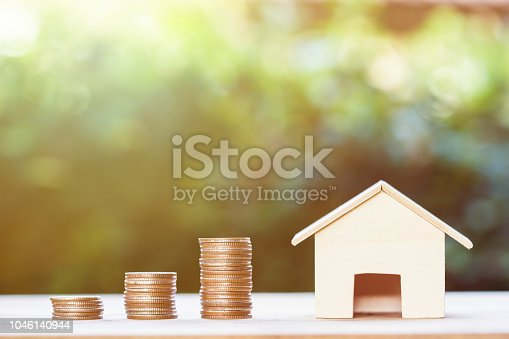 1048402108istockphoto Property investment,  home loan, house mortgage, resident financial concept 1046140944