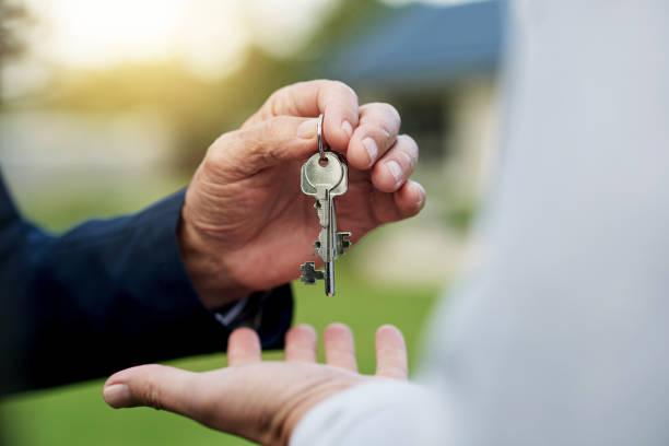 房地產是一個很好的投資 - 鎖匙 個照片及圖片檔