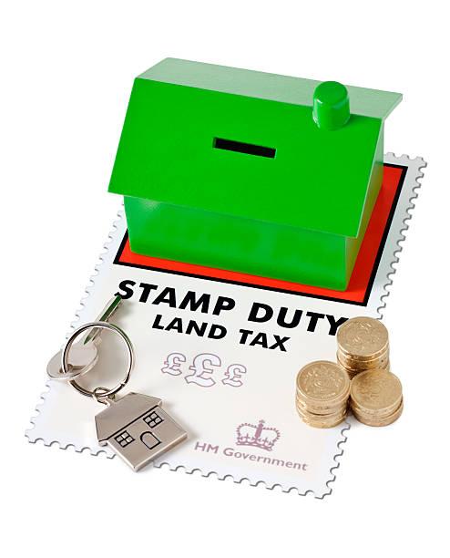 Property Stamp Duty UK stock photo