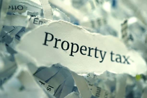 Cтоковое фото property tax