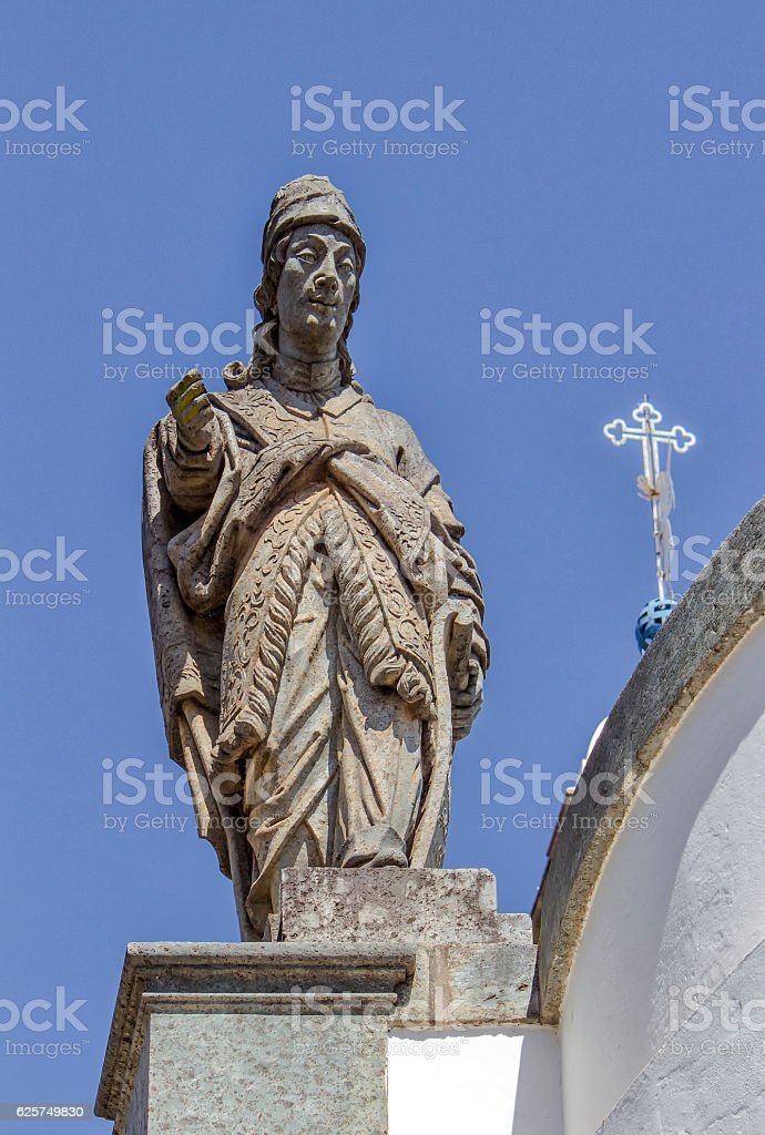 Prophet Amos Statue - foto de acervo