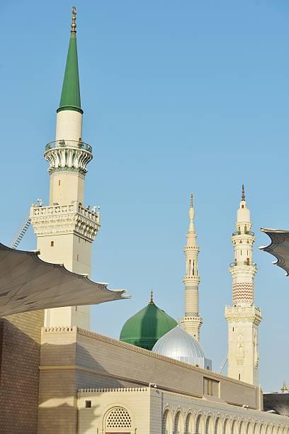 prophète muhammed sainte mosquée de la médina, d'arabie saoudite - omra photos et images de collection