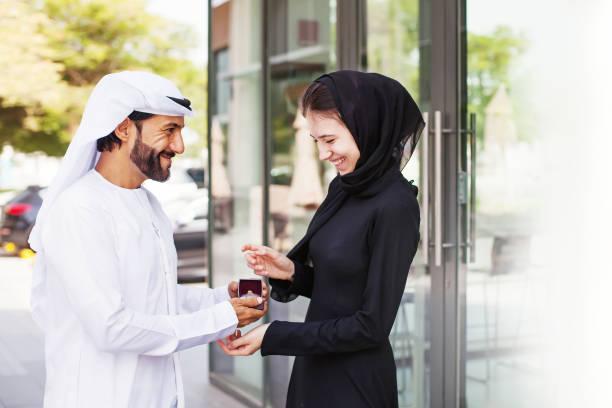 proposition - mariage musulman photos et images de collection