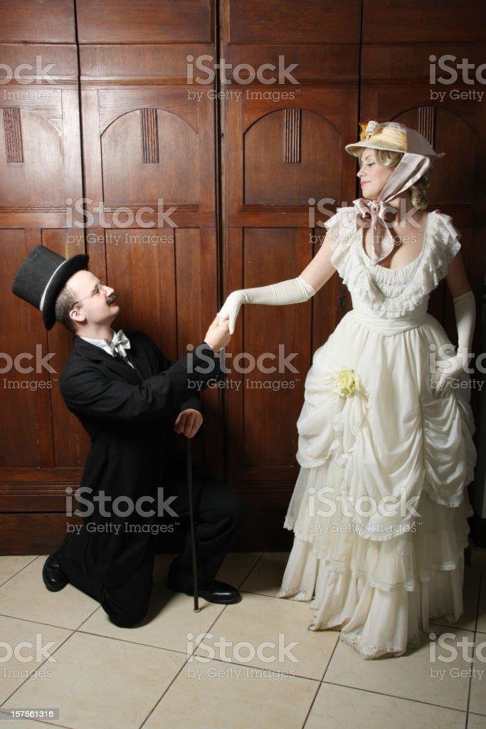 Proposal royalty-free stock photo