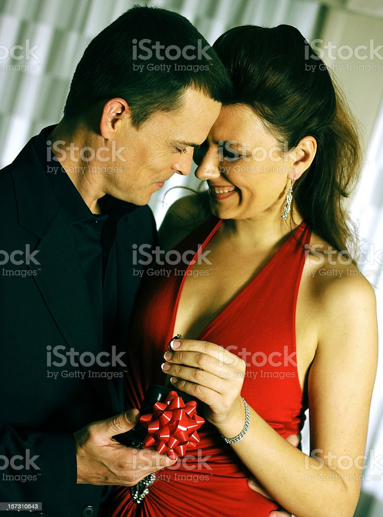 Proposing royalty-free stock photo