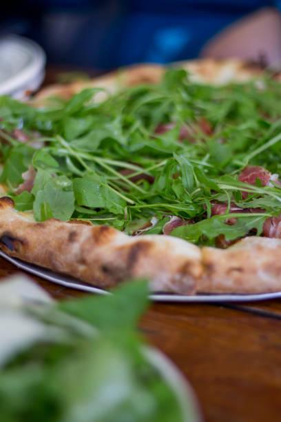 Prosciutto & Argugula Pizza