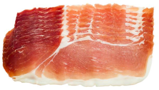 prosciutto crudo veya kurutulmuş domuz eti, geleneksel i̇talyan yemekleri - parma jambonu stok fotoğraflar ve resimler
