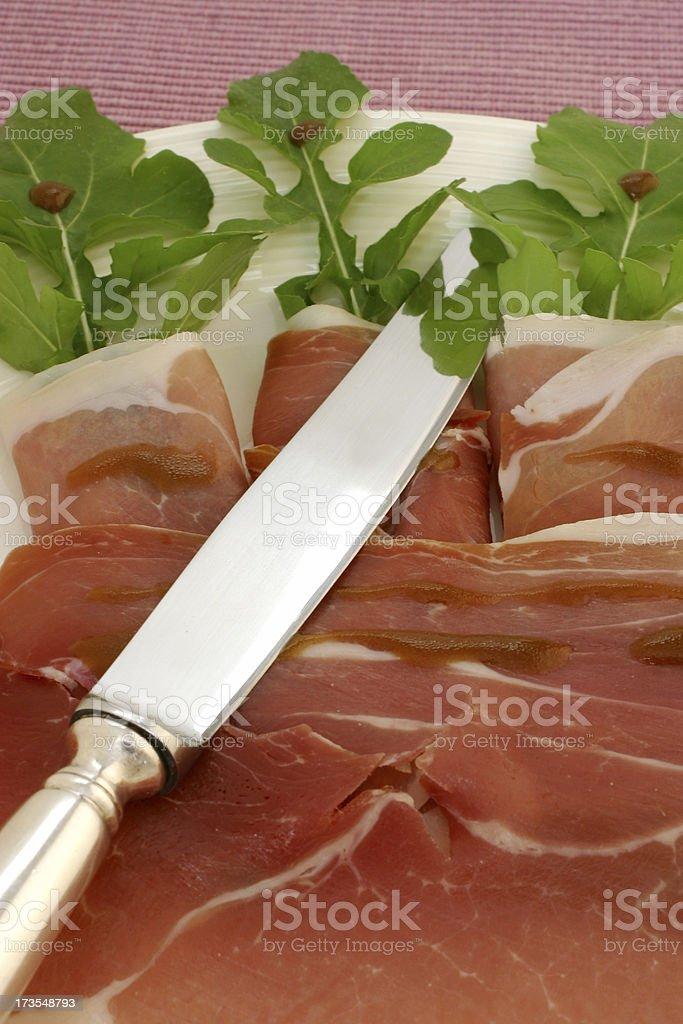 Prosciutto di Parma or Serrano? royalty-free stock photo