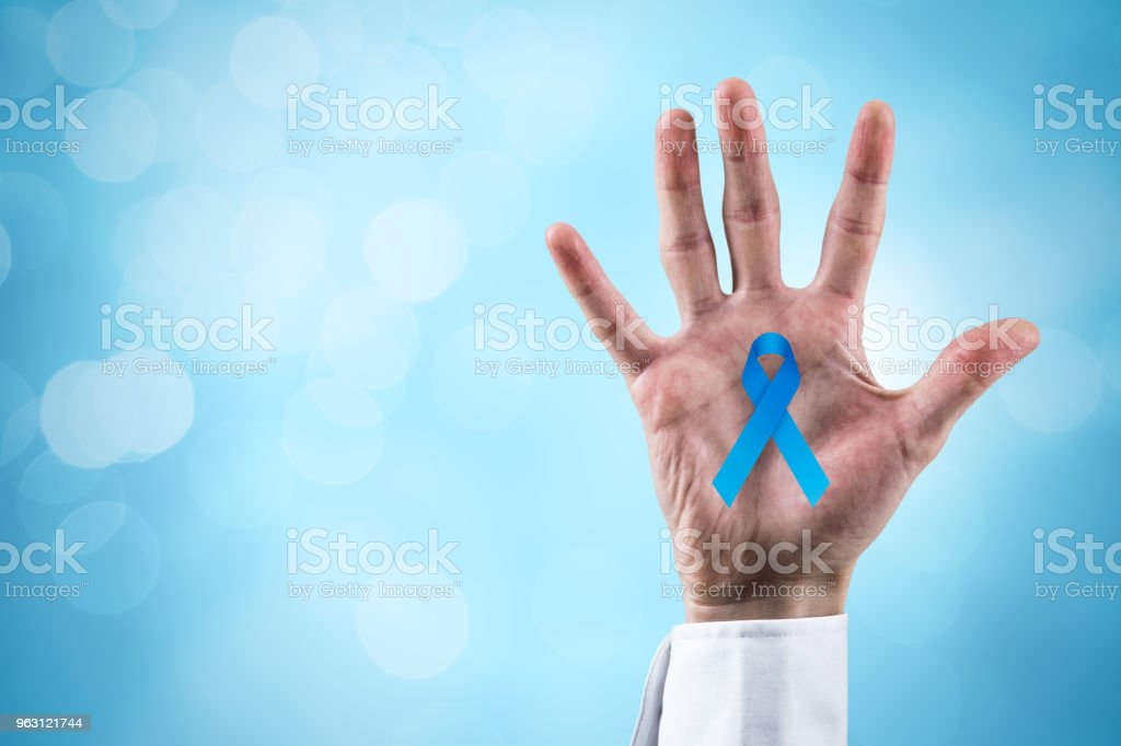 Prostate cancer prevention stock photo
