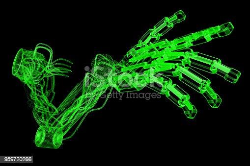 istock Prosthetic Arm Technology 959720266