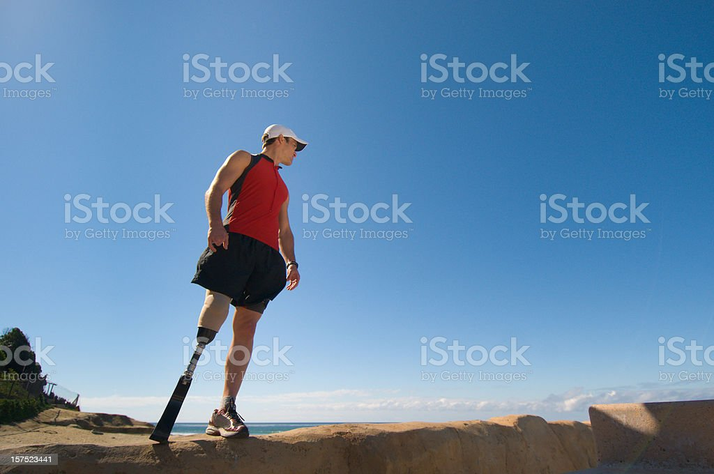 Prosthetic royalty-free stock photo