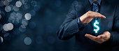 istock Protect company finances and tax optimization 682618472
