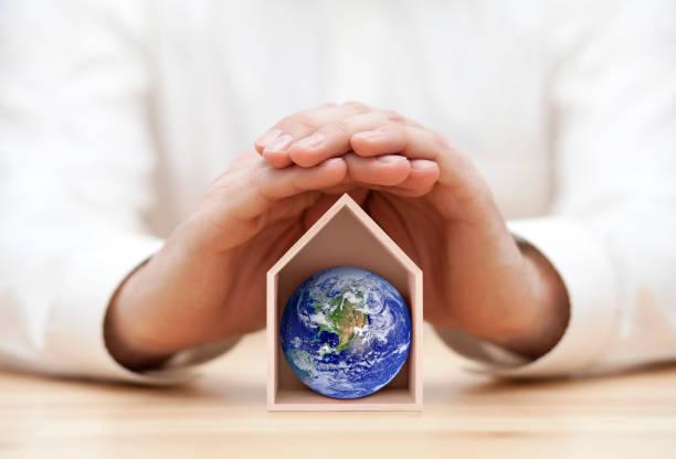proteger la tierra, nuestro hogar - clima fotografías e imágenes de stock