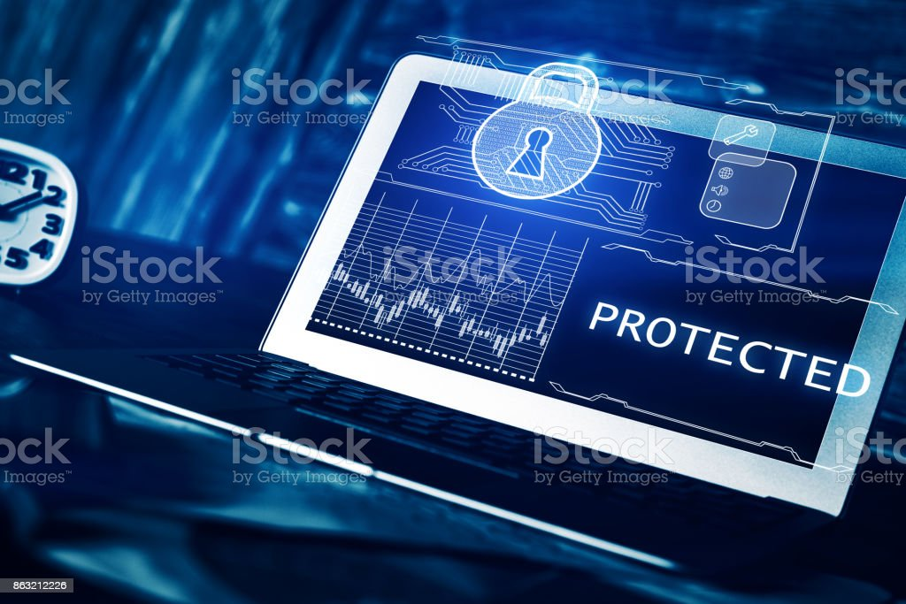 Protected concept stock photo