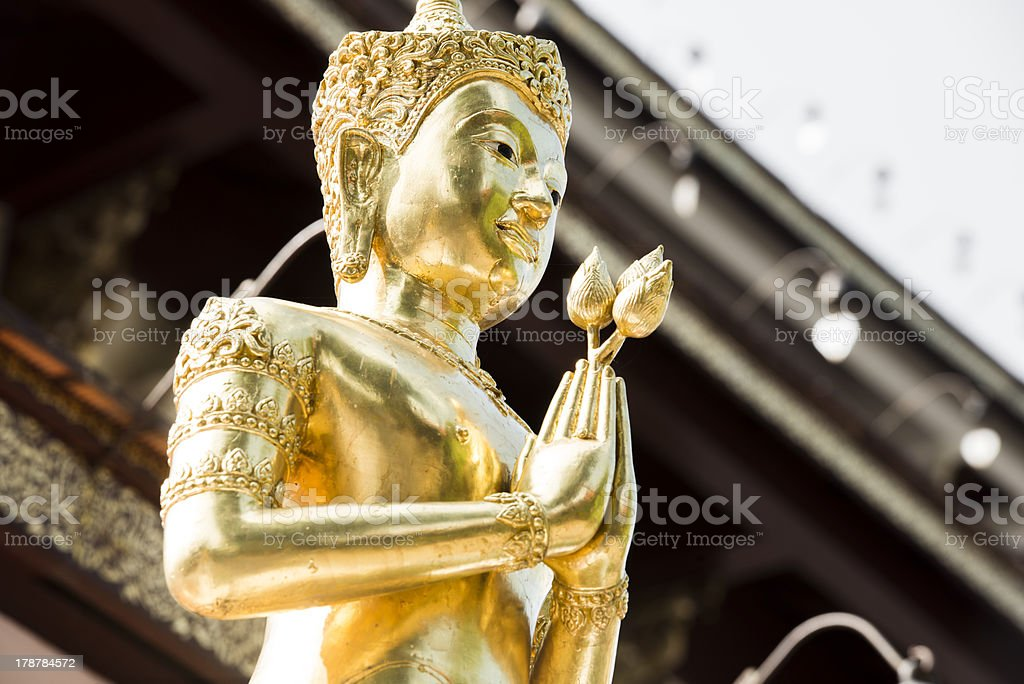 Protecting Goddess in Chiangmai, Thailand royalty-free stock photo