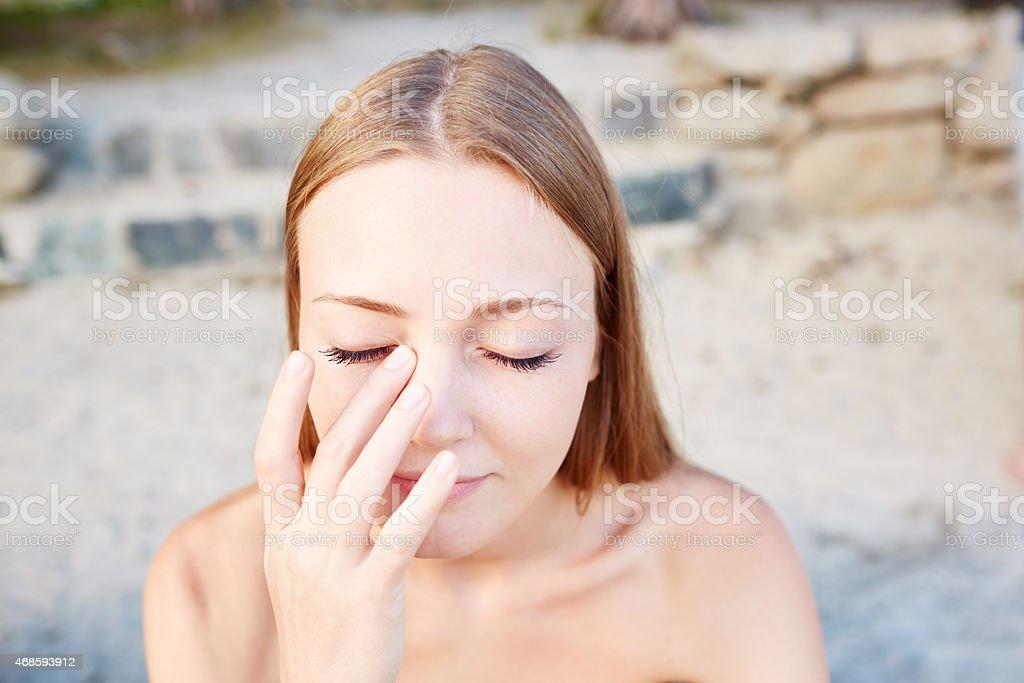 Schützt die Haut vor der Sonne – Foto