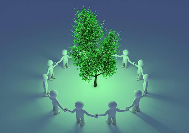 Schutz der tree – Foto