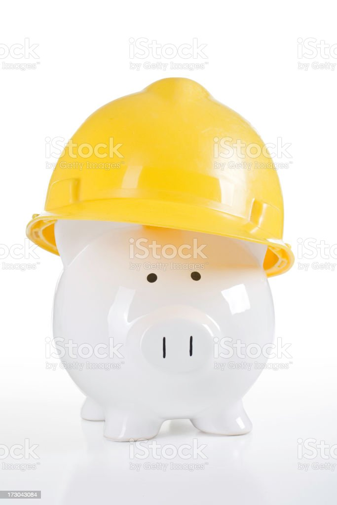 Protecting Your Savings royalty-free stock photo