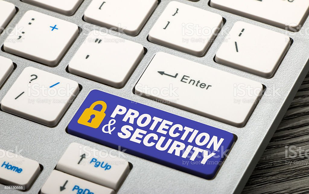 protection and security stock photo