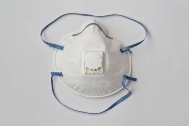 protection disposable mask - ffp2 imagens e fotografias de stock
