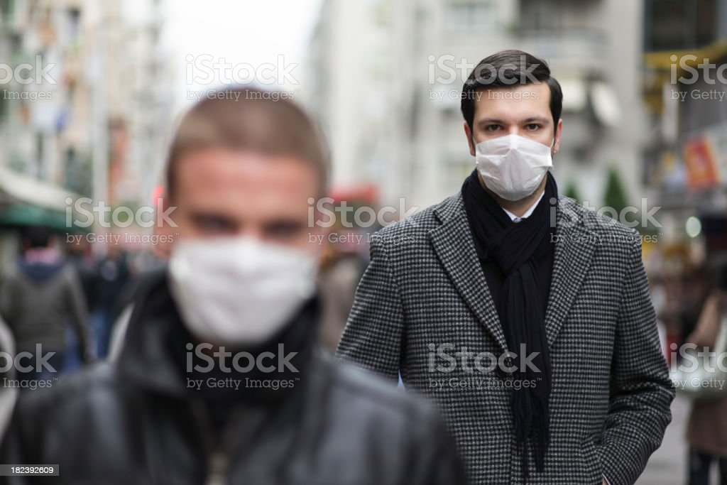 Protection for Viruses royalty-free stock photo