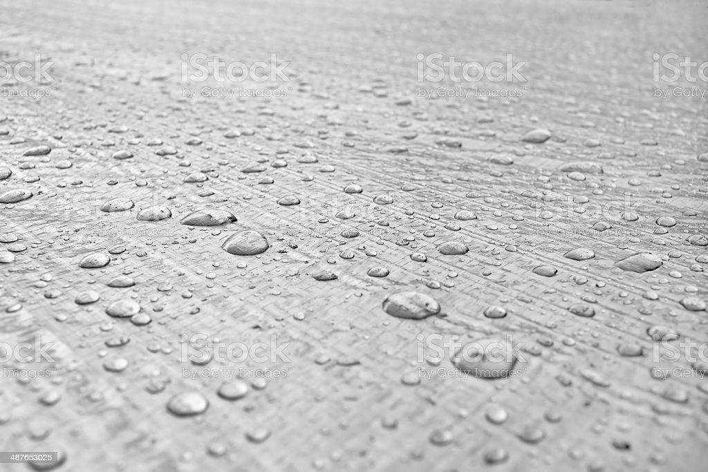 Protection from the rain-gidrobarer stock photo